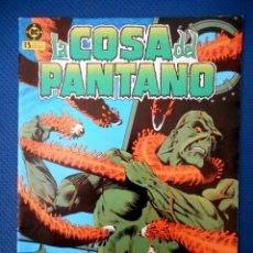 Cómics: LA COSA DEL PANTANO Nº 6 ( ZINCO 1985 ). Lote 129645715