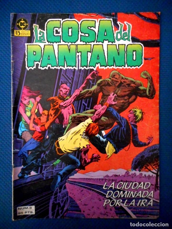 LA COSA DEL PANTANO Nº 3 ( ZINCO 1985 ) (Tebeos y Comics - Zinco - Cosa del Pantano)