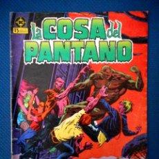Cómics: LA COSA DEL PANTANO Nº 3 ( ZINCO 1985 ). Lote 129646043