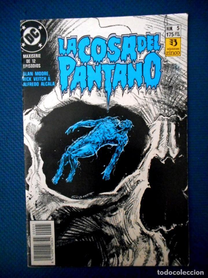 LA COSA DEL PANTANO VOL 4 Nº 5 ( ZINCO 1991 ) (Tebeos y Comics - Zinco - Cosa del Pantano)