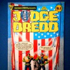 Cómics: JUDGE DREDD Nº 4 ( ZINCO 1985 ). Lote 129652723