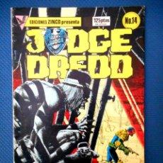 Comics: JUDGE DREDD Nº 14 (ZINCO 1985 ). Lote 129652975
