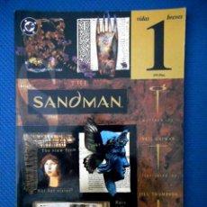 Cómics: SANDMAN VIDAS BREVES Nº 1 ( ZINCO 1995 ). Lote 129654015