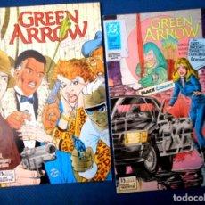 Cómics: GREEN ARROW Nº 6 - 7 ( ZINCO 1989 ). Lote 129654667