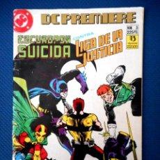 Cómics: DC PREMIERE Nº 3 ESCUADRÓN SUICIDA CONTRA LIGA DE LA JUSTICIA ( ZINCO 1990 ). Lote 129655643