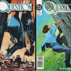 Cómics: QUESTION (COMPLETA) 36 NÚMEROS (EDICIONES ZINCO) MUY BUEN ESTADO.. Lote 130181111