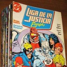 Cómics: LIGA DE LA JUSTICIA EUROPA (COMPLETA A FALTA DEL NÚMERO 14 - TOTAL 35 NÚMEROS DE 36) EDICIONES ZINCO. Lote 130184243