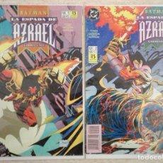 Cómics: BATMAN: LA ESPADA DE AZRAEL COMPLETA. Lote 134096005