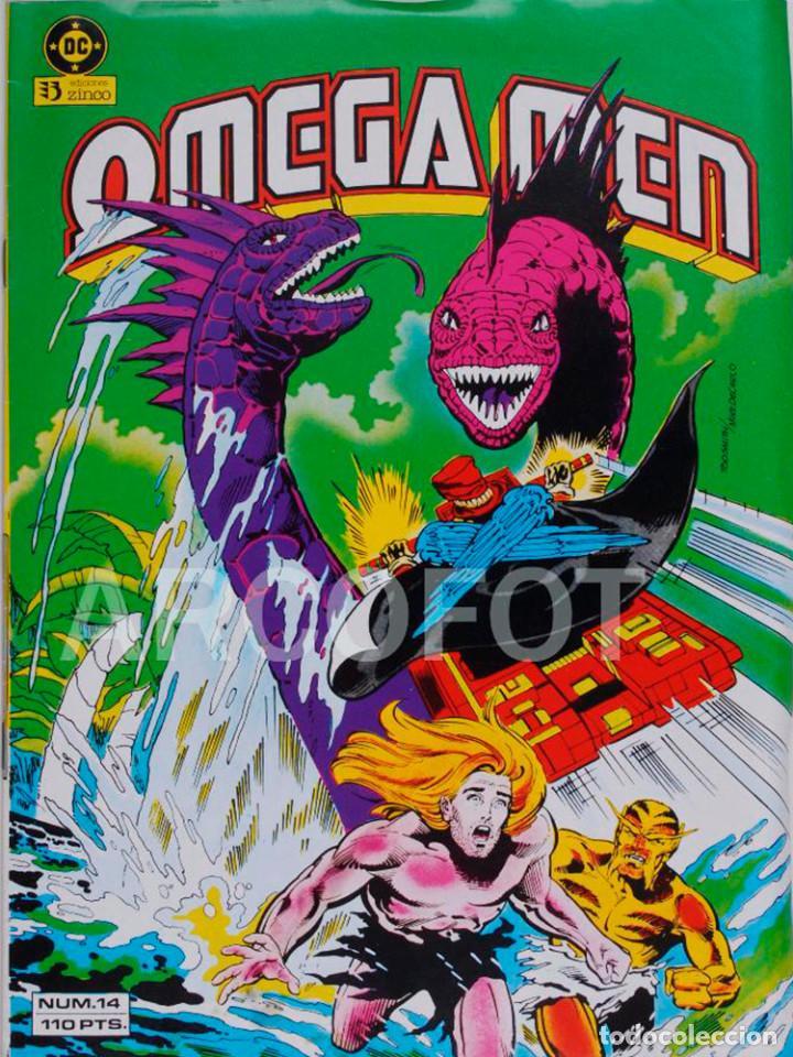 OMEGA MEN Nº 14 ZINCO DC NUEVO 1984 (Tebeos y Comics - Zinco - Otros)