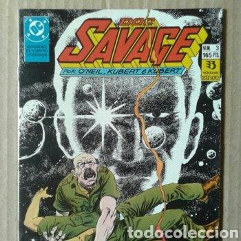 Cómics: Lote Doc Savage. Miniserie completa, números 1-2-3-4 (Ediciones Zinco, 1990). Por ONeil y Kubert. - Foto 3 - 130327320