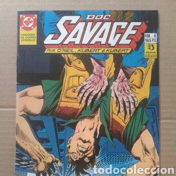 Cómics: Lote Doc Savage. Miniserie completa, números 1-2-3-4 (Ediciones Zinco, 1990). Por ONeil y Kubert. - Foto 4 - 130327320