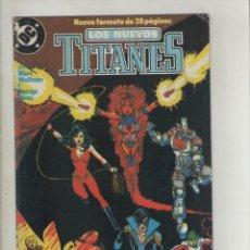 Cómics: NUEVOS TITANES-AÑO 1989-DC-ZINCO-COLOR-FORMATO GRAPA-Nº 1-SOMBRAS EN LA OSCURIDAD. Lote 130348786
