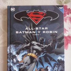 Cómics: BATMAN Y SUPERMAN - TOMO ALL-STAR BATMAN Y ROBIN PARTE 1 COLECCION NOVELAS GRAFICAS.MBE. Lote 130395474