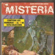 Cómics: MISTERIA - RETAPADO Nº 2 -Nº 5 - 6 - 7 Y 8 - RELATOS PARA ADULTOS - COMIC EROTICO - ED. ZINCO - 1981. Lote 130518154