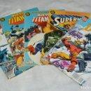 Cómics: LOTE DE 5 TEBEOS / COMICS - DEMON - SUPERMAN - NUEVOS TITANES - EDICIONES ZINCO - ENVÍO 24H. Lote 130552514