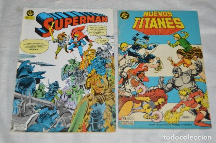 Cómics: LOTE DE 5 TEBEOS / COMICS - DEMON - SUPERMAN - NUEVOS TITANES - EDICIONES ZINCO - ENVÍO 24H - Foto 2 - 130552514
