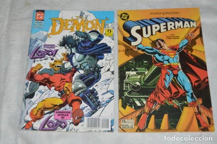 Cómics: LOTE DE 5 TEBEOS / COMICS - DEMON - SUPERMAN - NUEVOS TITANES - EDICIONES ZINCO - ENVÍO 24H - Foto 4 - 130552514