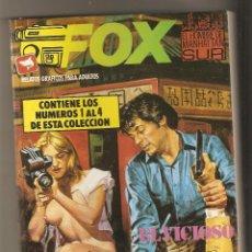 Cómics: FOX - RETAPADO Nº 1 - Nº 1 - 2 - 3 - 4 - RELATOS PARA ADULTOS - COMIC EROTICO - ED. ZINCO. Lote 130554058