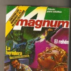Comics : MAGNUM 44 - RETAPADO Nº 1 - Nº 1 - 2 - 3 Y 4 RELATOS PARA ADULTOS - COMIC EROTICO - ED. ZINCO. Lote 130554786