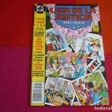 Cómics: LIGA DE LA JUSTICIA AMERICA ESPECIAL VERANO 4 1990 ( GIFFEN ) ¡MUY BUEN ESTADO! ZINCO DC. Lote 130571522