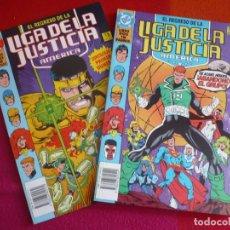 Cómics: EL REGRESO DE LA LIGA DE LA JUSTICIA AMERICA 1 Y 2 ( JURGENS ) ¡MUY BUEN ESTADO! ZINCO DC. Lote 130587770