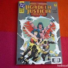 Cómics: LA LIGA DE LA JUSTICIA AMERICA 3 COMIENZOS Y REENCUENTROS ( JURGENS ) ¡MUY BUEN ESTADO! ZINCO DC. Lote 130587874