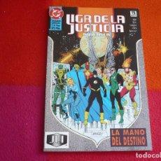 Cómics: LA LIGA DE LA JUSTICIA AMERICA 4 LA MANO DEL DESTINO ( JURGENS ) ¡MUY BUEN ESTADO! ZINCO DC. Lote 130587902