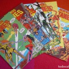 Cómics: NUEVOS TITANES VOL. 1 NºS 11, 12, 13, 14 Y 15 ( WOLFMAN GEORGE PEREZ ) ¡MUY BUEN ESTADO! ZINCO DC. Lote 130589994