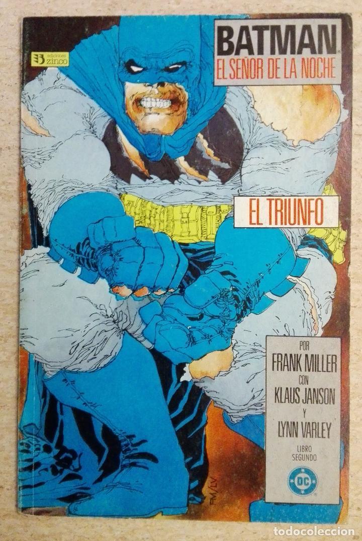 BATMAN EL SEÑOR DE LA NOCHE: EL TRIUNFO (Tebeos y Comics - Zinco - Prestiges y Tomos)