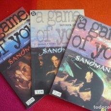 Cómics: SANDMAN A GAME OF YOU COMPLETA ( GAIMAN ) ¡MUY BUEN ESTADO! ZINCO DC UN JUEGO DE TI 2, 3 Y 4. Lote 130658688