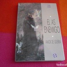 Cómics: EL AS ENEMIGO AMOR DE GUERRA ( GEORGE PRATT ) ¡MUY BUEN ESTADO! TAPA DURA ZINCO DC. Lote 130659768