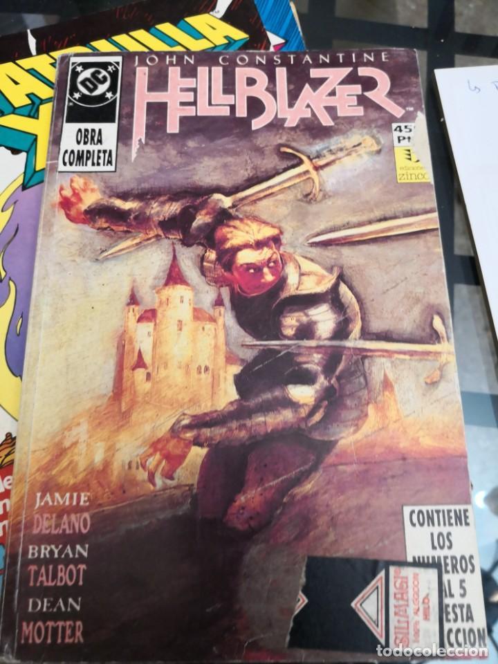 JOHN CONSTANTINE : HELLBLAZER TOMO RETAPADO OBRA COMPLETA 1 2 3 4 5 JAMIE DELANO & BRYAN TALBOT (Tebeos y Comics - Zinco - Retapados)