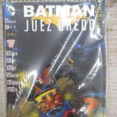 Cómics: COLECCION COMPLETA BATMAN / JUEZ DREDD DOS TOMOS ED ZINCO. Lote 130790396