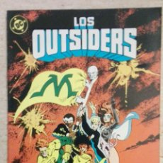 Cómics: LOS OUTSIDERS NÚM. 25 . Lote 130929972