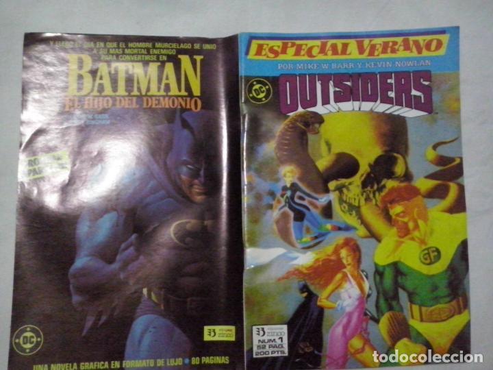 TEBEOS Y COMICS: OUTSIDERS Nº 1. ESPECIAL VERANO ABLN) (Tebeos y Comics - Zinco - Outsider)