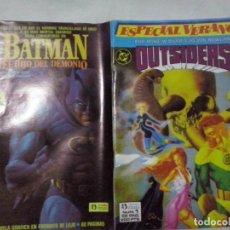 Cómics: TEBEOS Y COMICS: OUTSIDERS Nº 1. ESPECIAL VERANO ABLN). Lote 130935800