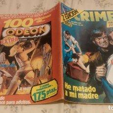 Cómics: CRIMEN, NUMERO 45: LA MUERTE AL ACECHO / HE MATADO A MI MADRE (ZINCO 1981). Lote 130959244
