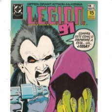 Cómics: L.E.G.I.O.N. 91. Nº 2. DC/ZINCO (C/A58). Lote 131147620