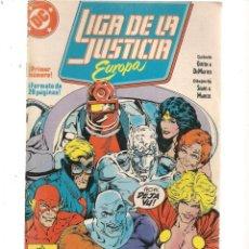 Cómics: LIGA DE LA JUSTICIA EUROPA. Nº 1. DC/ZINCO (C/A58). Lote 131154532