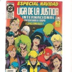 Cómics: LIGA DE LA JUSTICIA INTERNACIONAL . Nº 1. ESPECIAL NAVIDAD. DC/ZINCO (C/A58). Lote 131154620