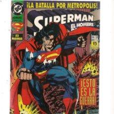 Cómics: SUPERMAN EL HOMBRE DE ACERO. Nº 13. DC/ZINCO (C/A58). Lote 131154792