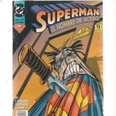 Cómics: SUPERMAN EL HOMBRE DE ACERO. Nº 33. DC/ZINCO (C/A58). Lote 131154892