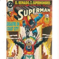 Cómics: SUPERMAN. EL REINADO DE LOS SUPERHOMBRES. Nº 3. DC/ZINCO (C/A58). Lote 131155100