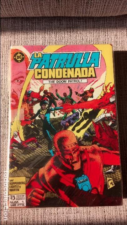 PATRULLA CONDENADA -DOOM PATROL- COLECCION COMPLETA EDICIONES ZINCO (Tebeos y Comics - Zinco - Patrulla Condenada)