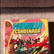 Cómics: PATRULLA CONDENADA -DOOM PATROL- COLECCION COMPLETA EDICIONES ZINCO. Lote 131198196