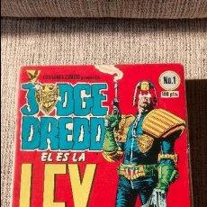 Cómics: JUEZ DREDD COLECCION COMPLETA EDICIONES ZINCO. Lote 131198912
