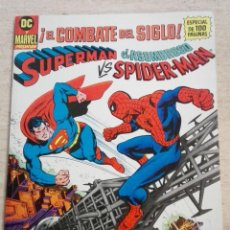 Cómics: SUPERMAN VS. EL ASOMBROSO SPIDER-MAN - EL COMBATE DEL SIGLO. Lote 131284635