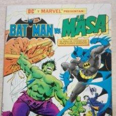 Cómics: BATMAN VS LA MASA. Lote 131285183