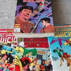 Cómics: ESCUADRON SUICIDA COLECCION COMPLETA EDICIONES ZINCO. Lote 131546070