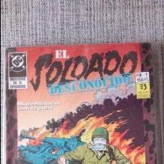 Cómics: EL SOLDADO DESCONOCIDO SERIE COMPLETA EDICIONES ZINCO. Lote 131545806